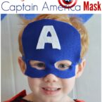Super Simple Felt Captain America Mask