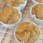 Oat Bran Muffins with Applesauce