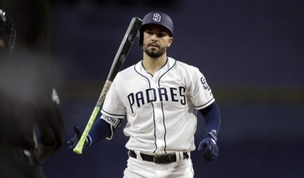 huge selection of 66940 8b6bc Is it Time for Padres to Bench Hosmer?   East Village Times