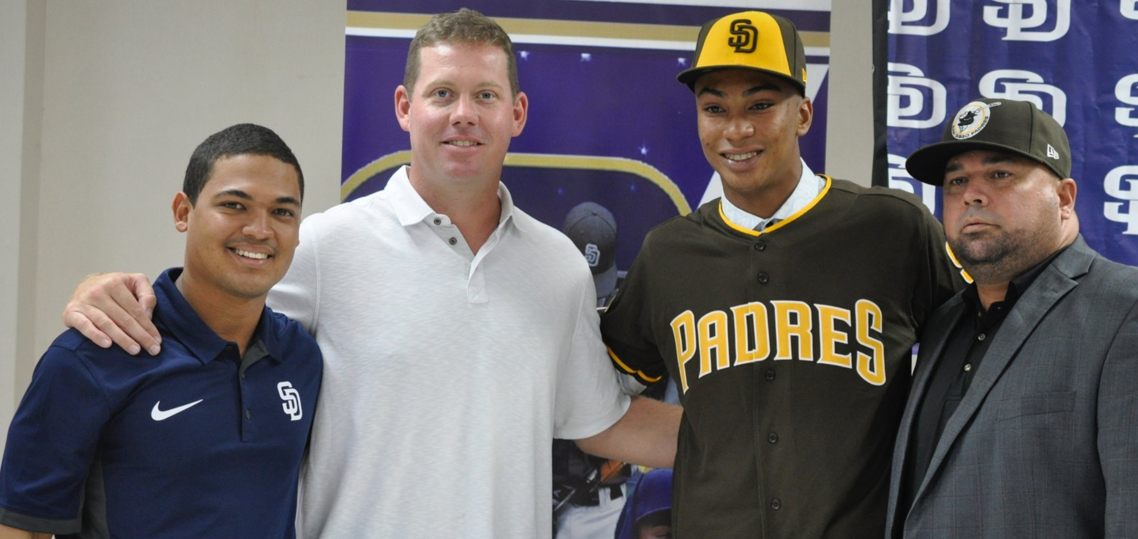 finest selection 29180 e262e Padres sign four Top 30 Int'l prospects | East Village Times