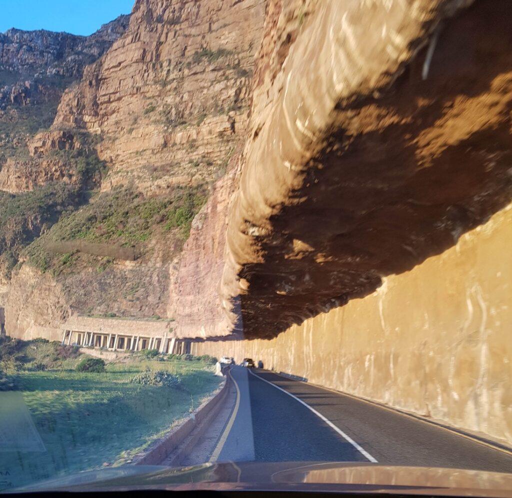 Parte da Chapman's Peak Drive