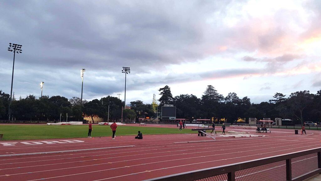 Quadra de atletismo Universidade de Stanford