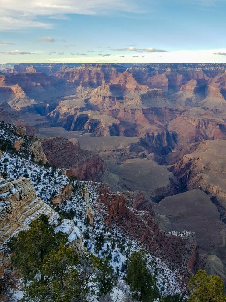 Grand Canyon visto de um mirante