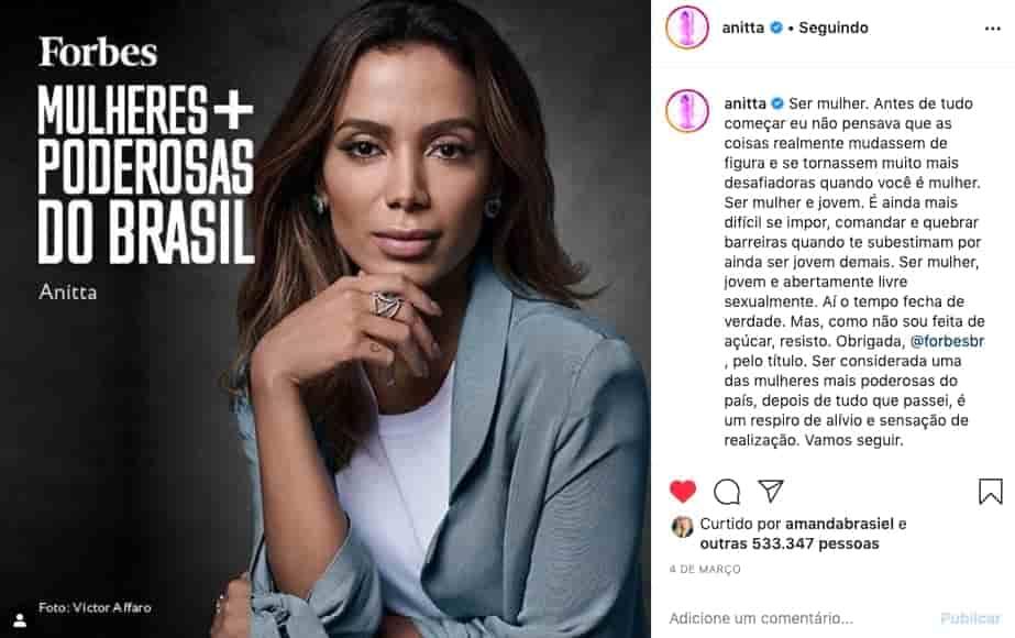 Aniita Capa Forbes print Instagram
