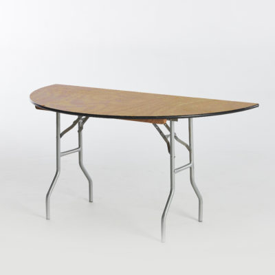 Folding Table-Half Round
