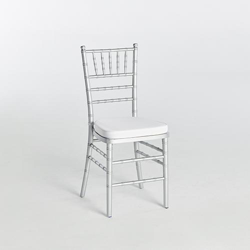 40. Chiavari Chair-Silver