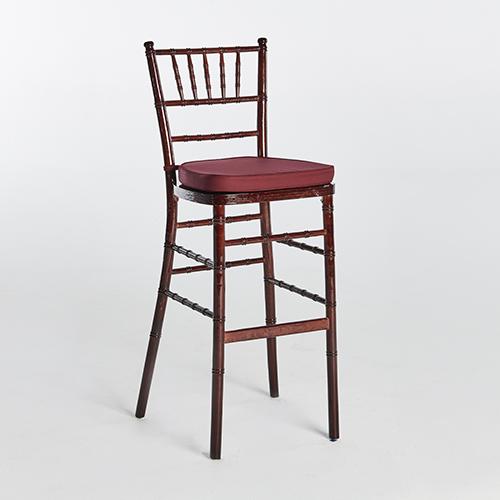 42. Chiavari Bar Stool-Brown