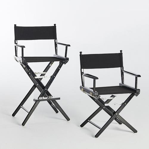 Directors Chairs-Short _ Tall-BLACK