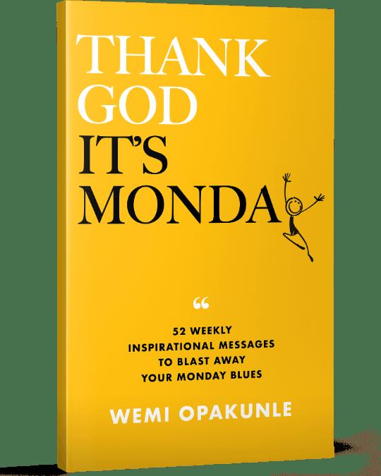 Thank God It's Monday Paperback-1