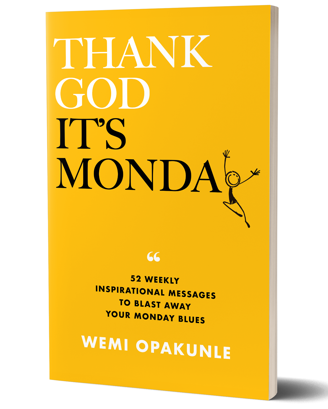 Thank God It's Monday Paperback-3