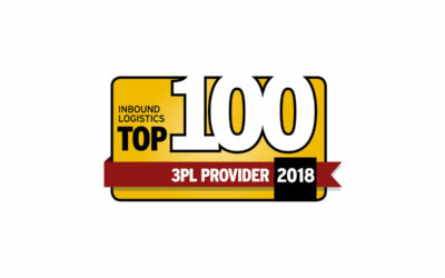Distribution Technology Awarded the 2018 Top 100 3PL Provider