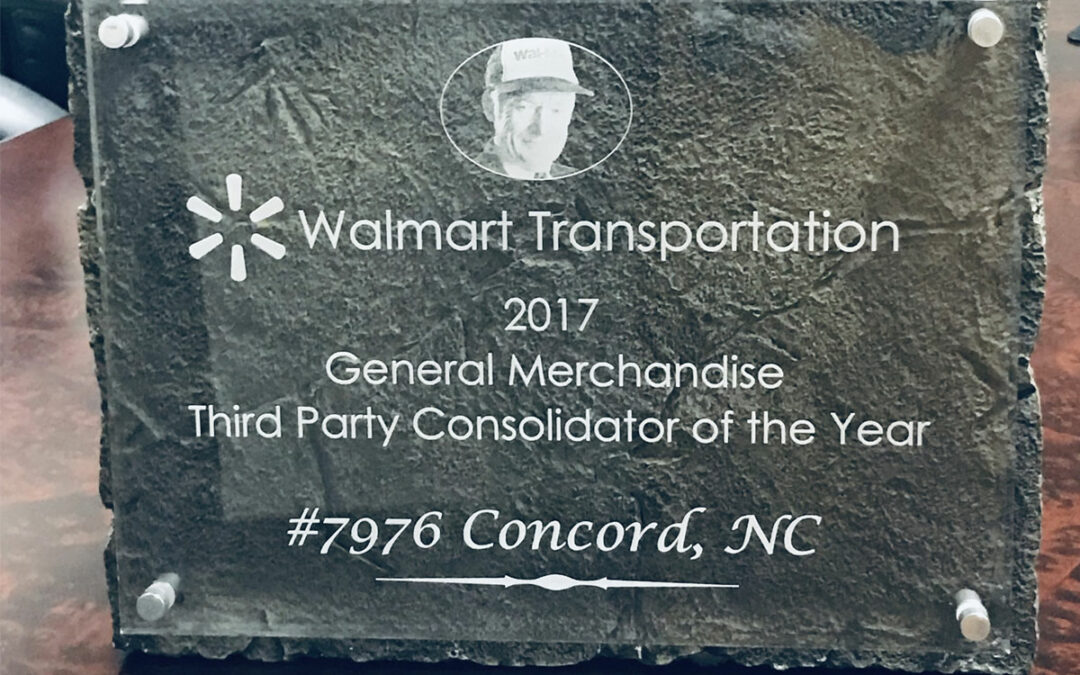 Distribution Technology Wins Walmart's General Merchandise Third-Party Consolidator of the Year Award