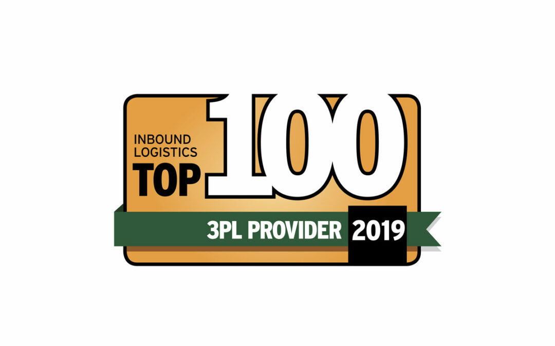 Distribution Technology Awarded Inbound Logistics' 2019 Top 100 3PL Award