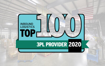Distribution Technology Recognized as a 2020 Top 100 3PL Provider