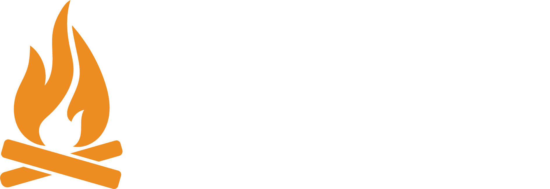 Bonfire-horizontal-white text