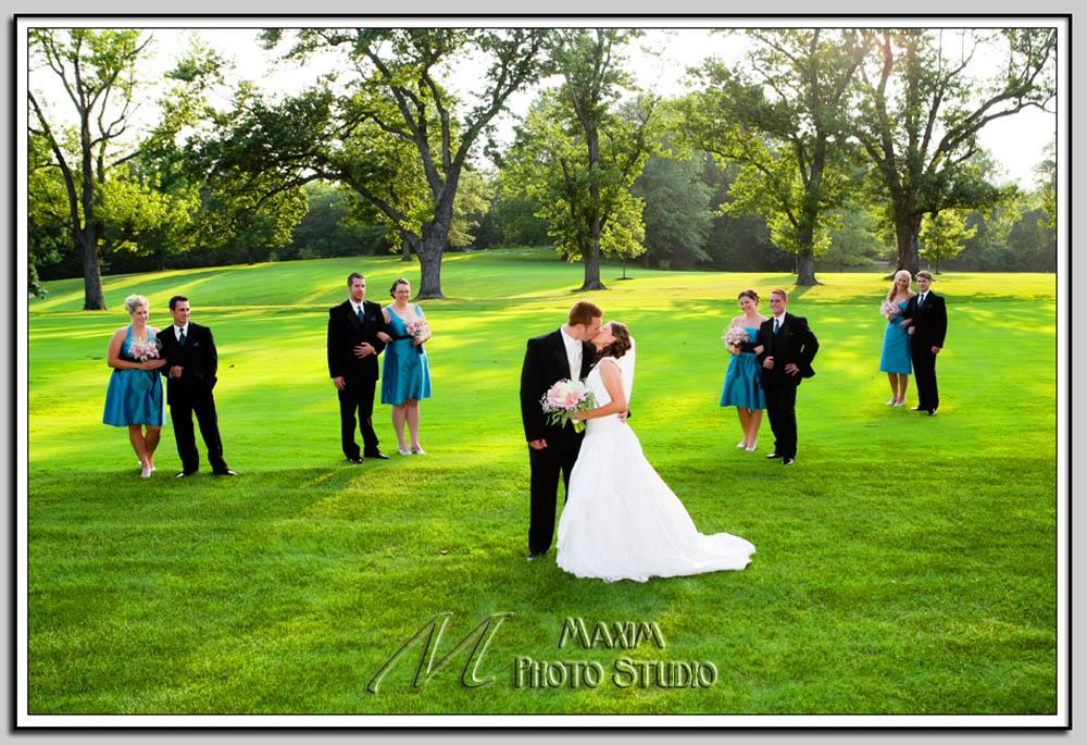 Ellen and Garrett Wedding Party
