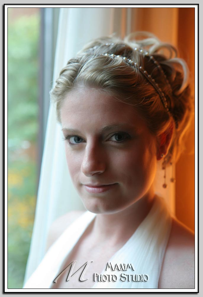 Bride at Cincinnati Marriott North