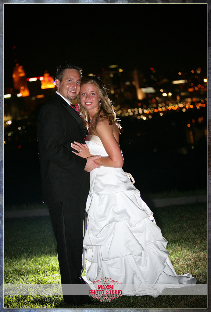 Maxim Photo Studio captured the wedding at Drees pavilion