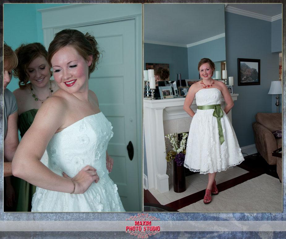 Cincinnati Wedding Preparations
