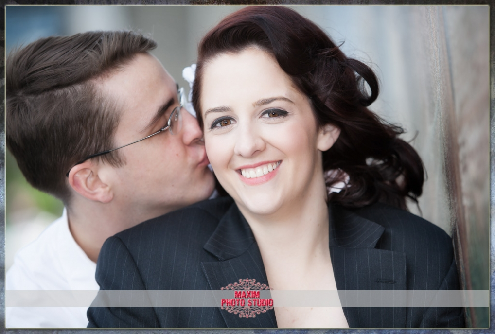 Maxim Photo Studio photographed the engagement in Covington KY