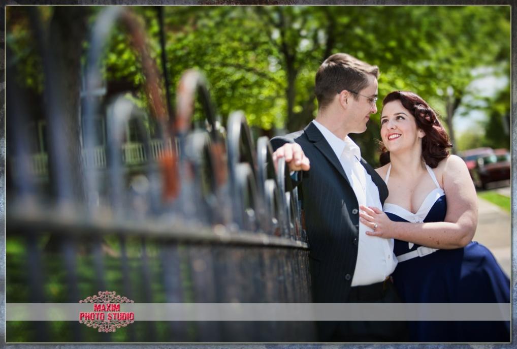 Maxim Photo Studio photographed a fun engagement in Covington KY