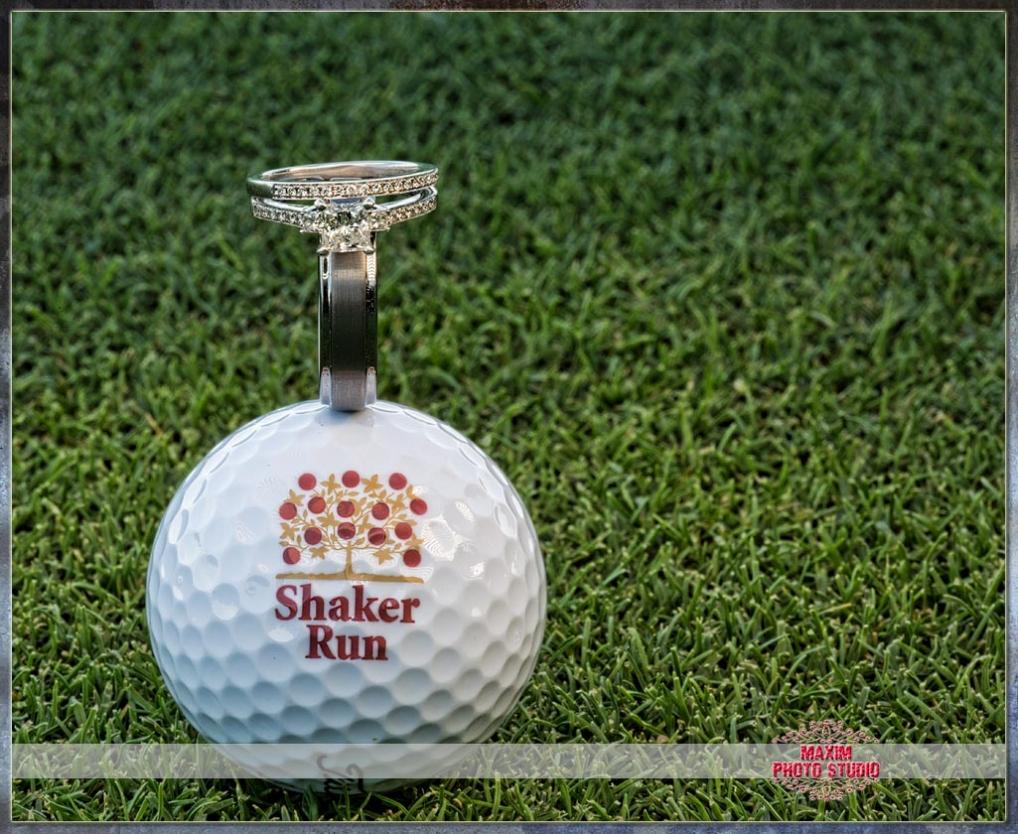 Maxim Photo Studio photographed a wedding photo 1 at Shaker run Golf club in ohio