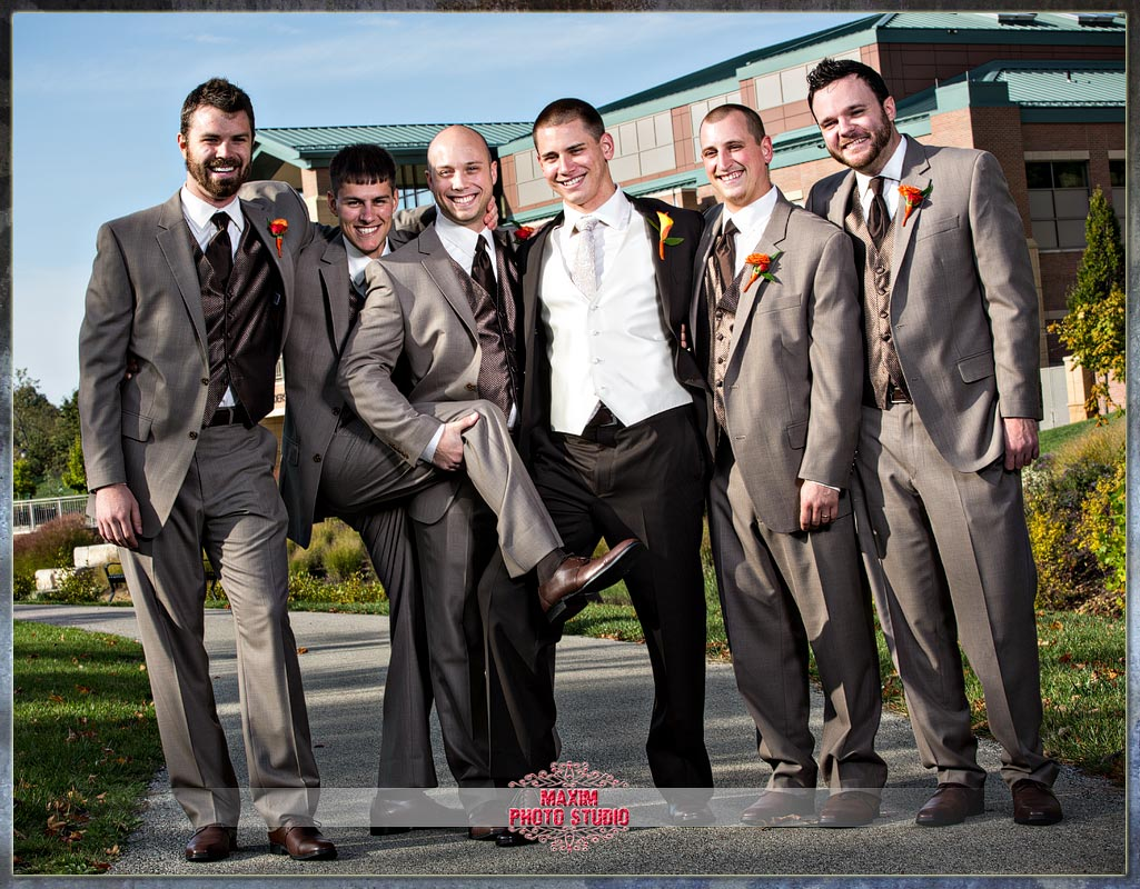 Anderson Center Cincinnati Groomsmen