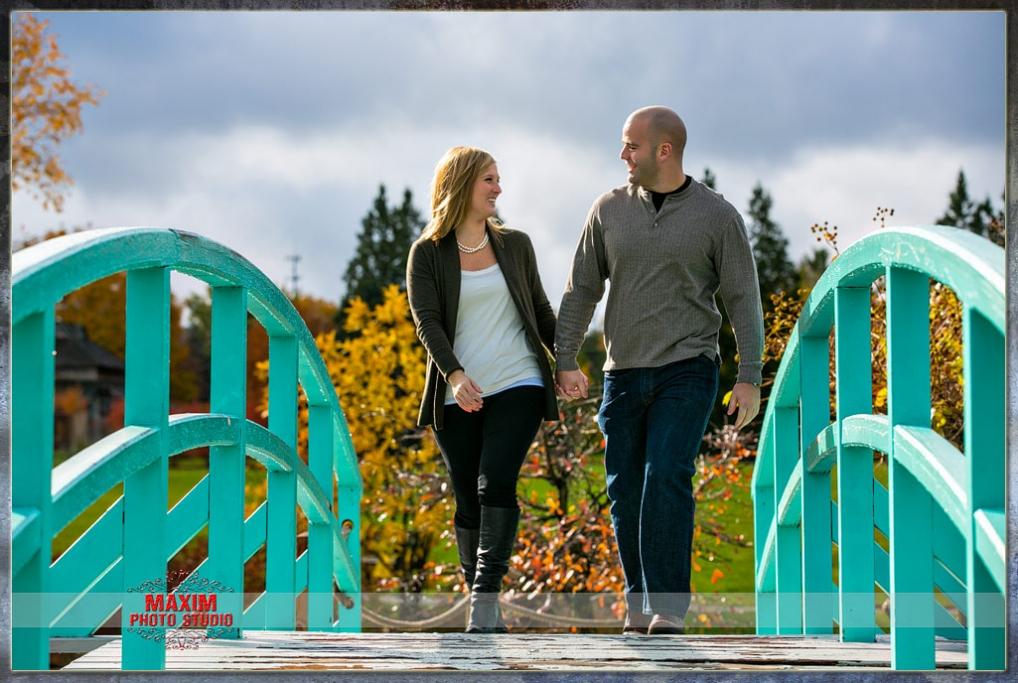 Cox Engagement by Dayton wedding photographers