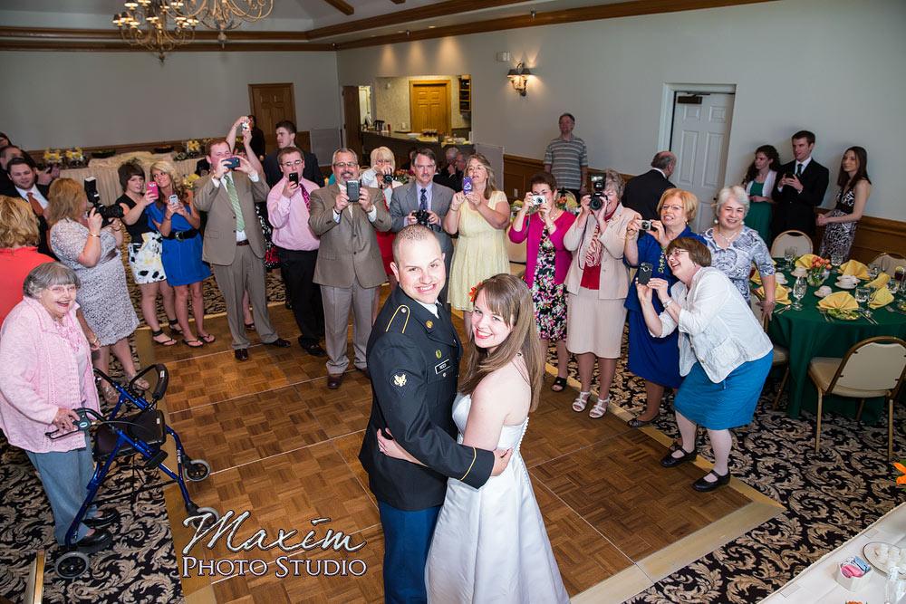 Presidential Banquet Center wedding in Dayton