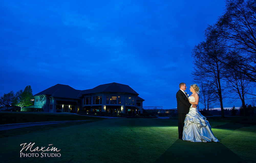 Scioto Reserve Country club Bride-Groom photo