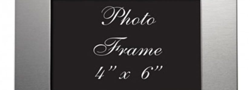brushed-aluminum-4-x-6-picture-frame