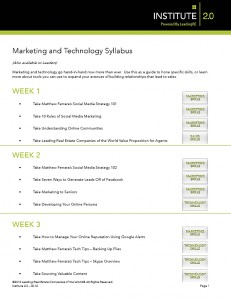 Marketing & Technology Syllabus