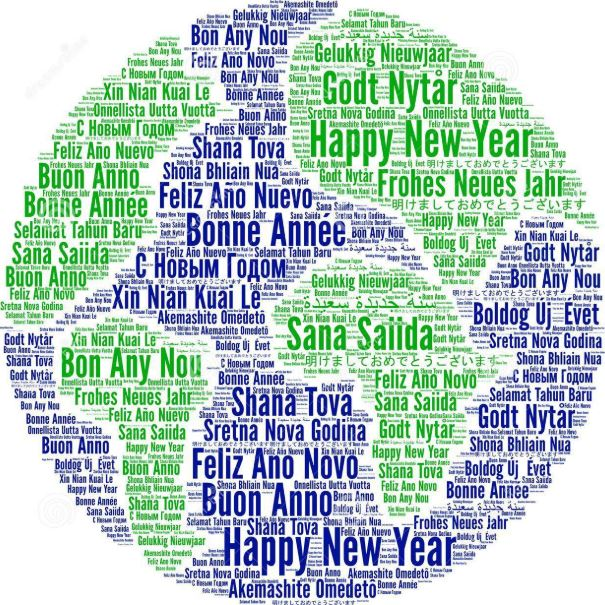 Multi-lingual-Happy-New-Year