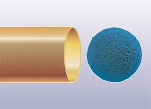 TAPROGGE Spongeball improves thermal performance