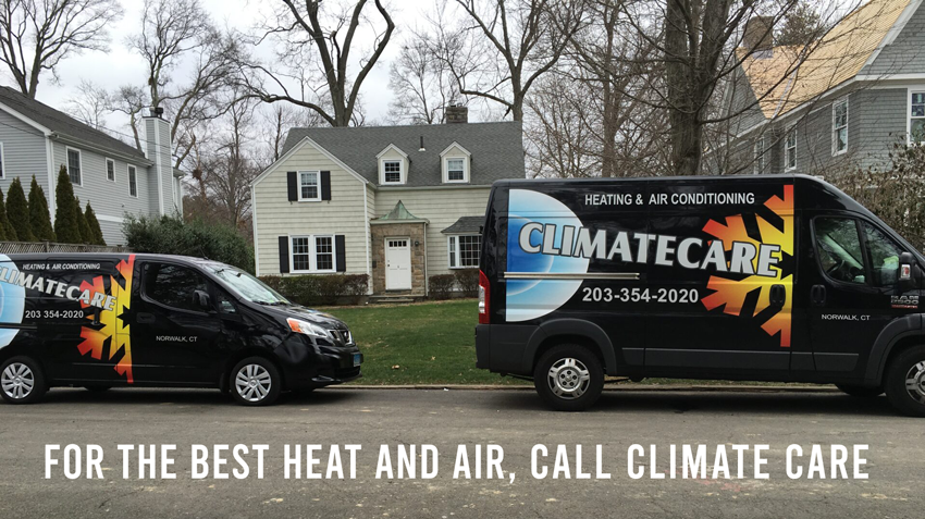 air conditioning and heating in CT, HVAC services