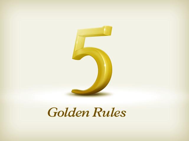 The 5 Golden Rules of Online Branding