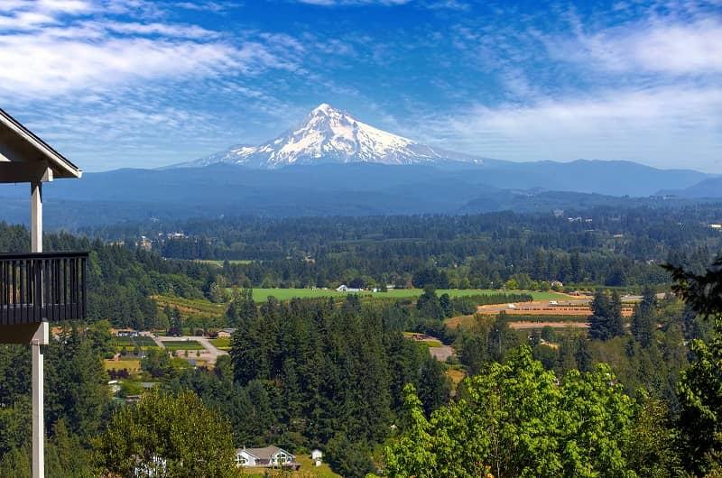 Mount Hood View from Backyard Deck-cm (2)
