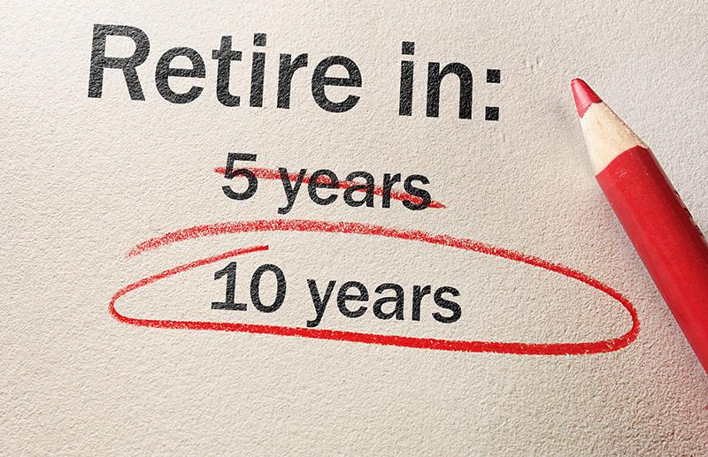 delayed retirement