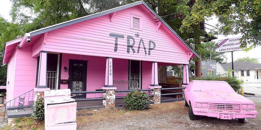 2 chains pink trap house gets a visit from Good Clean Carpets