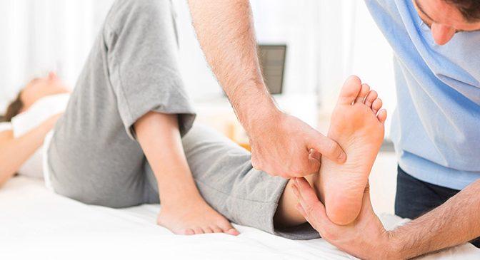 feet killing your back