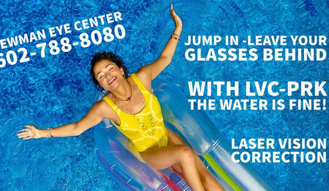 Jump in – Leave your Glasses Behind