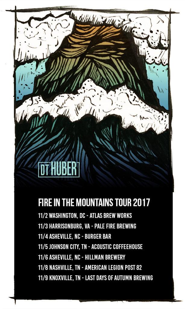 DT Huber 2017 tour