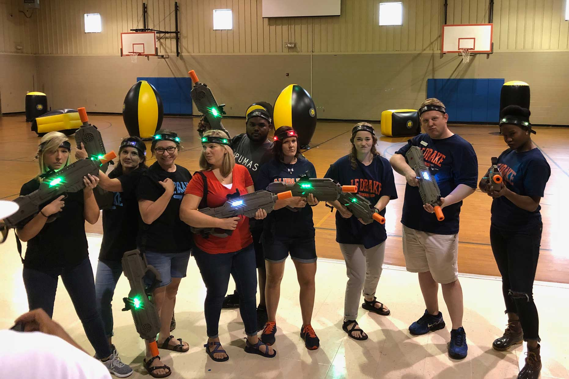 Laser Tag Corporate Event