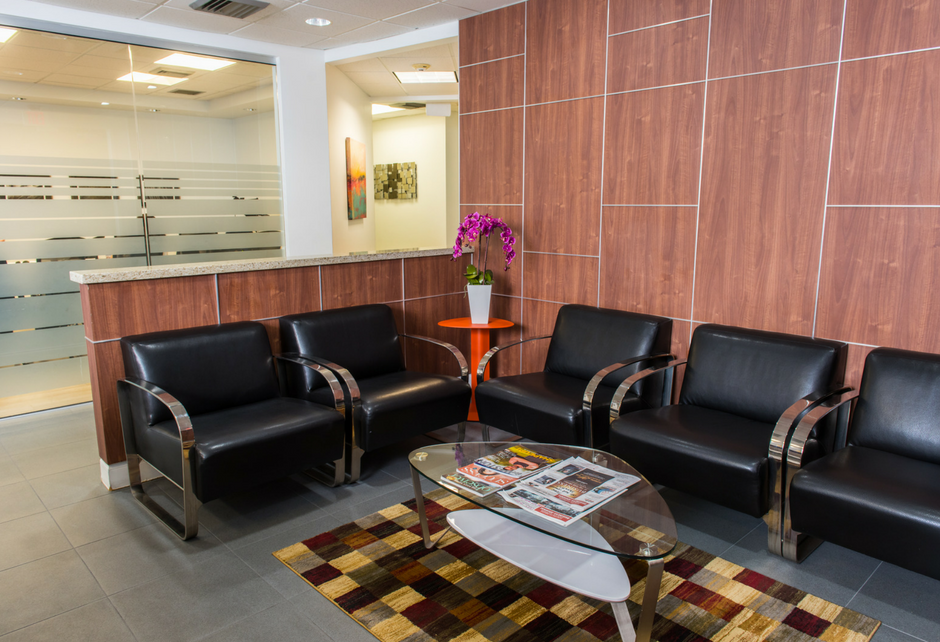 Crown Center Executive Suites office lobby Fort Lauderdale FL