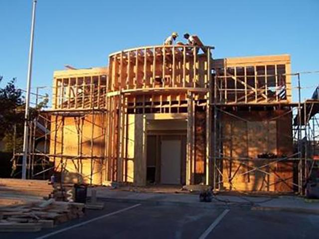 Rebuilding Commercial Front
