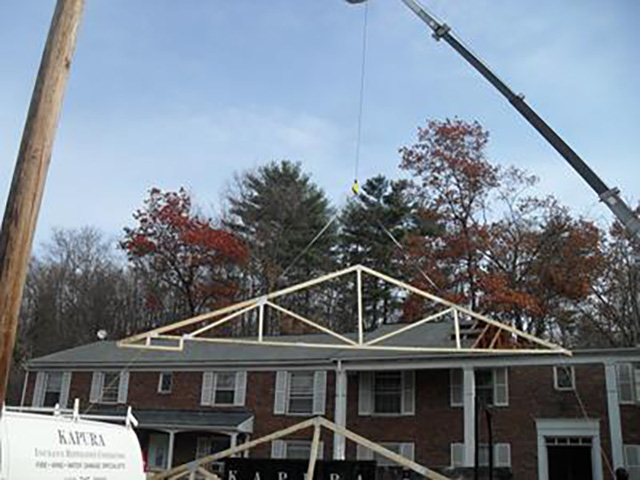 New Roof Rafters