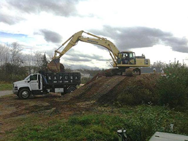 Excavation with Kapura