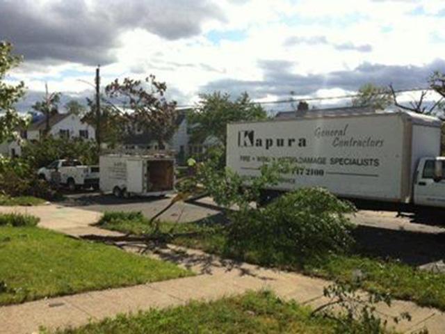 Kapura Cleaning Up Storm Damage