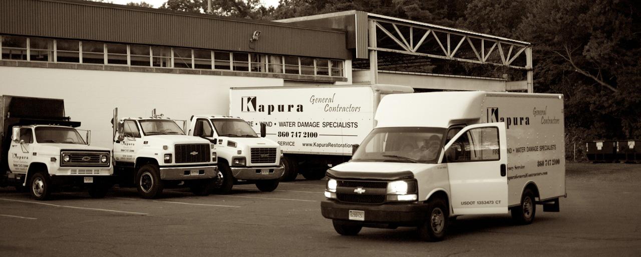 Kapura Office and Trucks