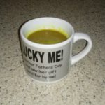 Butter Turmeric MCT Coffee in cup